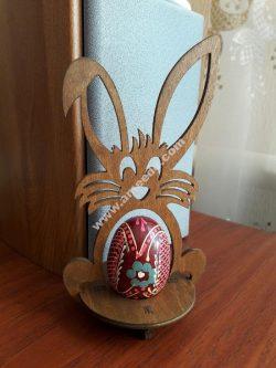 Laser Cut Easter Bunny Egg Holder