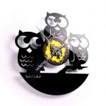 3D Disco Wall Clock Gufi