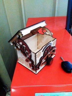 Box with lock Design