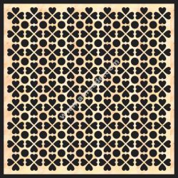 Decorative Grille Panel Board Pattern