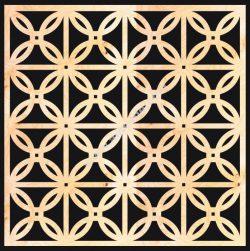 Decorative Wood Grilles Panels Pattern
