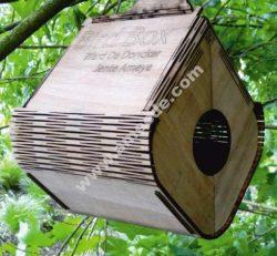 Flexible Plywood Birdhouse