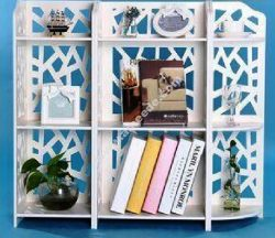 Free Vector Bookshelf Storage Rack Template