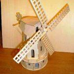 Laser Cut 3D Mill Plywood