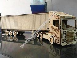 Laser Cut Scania R580 Truck