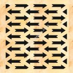 MDF Decorative Screen Panel Pattern
