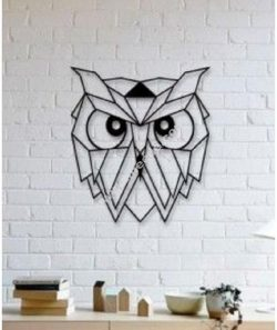 Owl Wall Sculpture