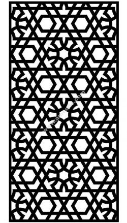 Pattern Arabic Modern Graphics
