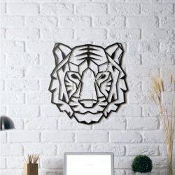 Tiger wall Sculpture