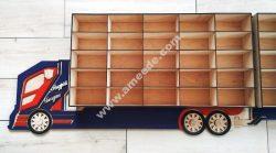 Vector Laser Cut Shelf Truck