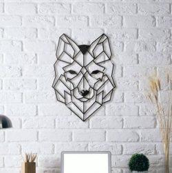 Wolf Wall Sculpture