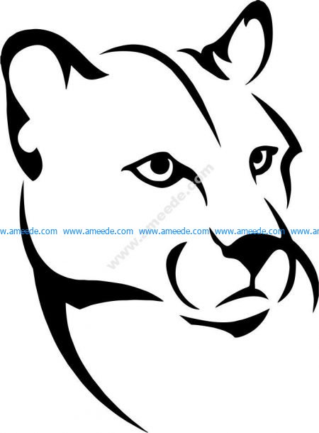 African jaguar symbol