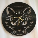 Cat Face Wall Clock