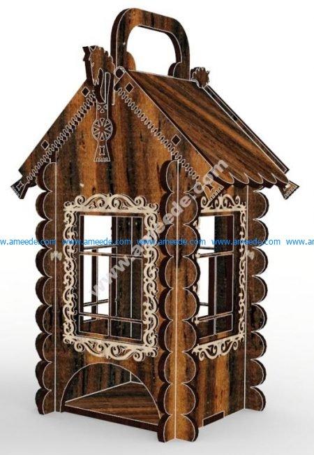 Decorative Tea House 4mm