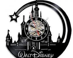 Disney vinyl clocks