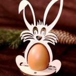 Easter Eggs Rabbit Stand