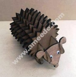Hedgehog Coasters With Holder