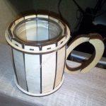 Laser Cut Cup Holder