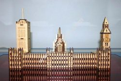 Laser Cut London Big Ben