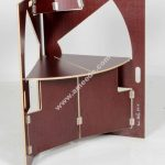 Laser Cut Werner Schmidt Folding Triangle Chair