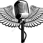 Music angel icon