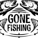 Salmon fishing location icon
