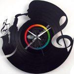 Orologio in vinile Music Clock