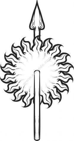 Sundial symbol