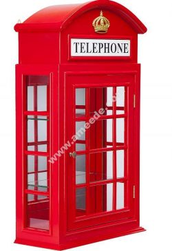 Tea Bags Holder London Phone Booth