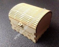 Wedding Ring Box 3mm Plywood