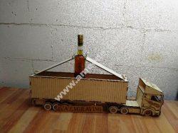 Wooden Gift Box Truck