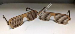 Wooden Glasses Template
