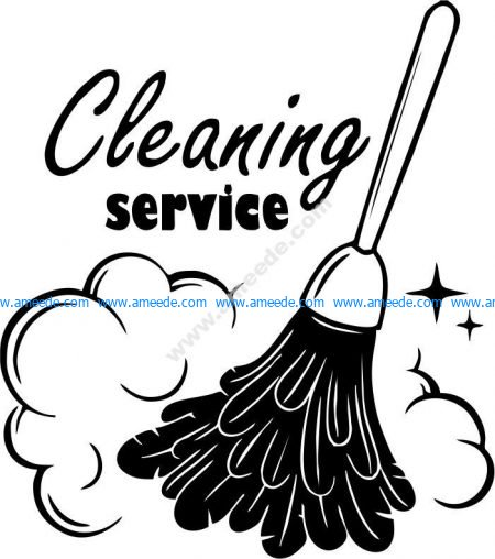 icon of specialized cleaning area