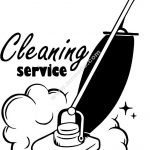 room cleaning icon