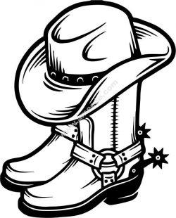symbol of western cowboy