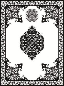 Arabic style decorative motifs