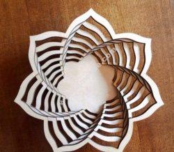 3D Baskets Sugar Bowl