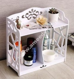 Bathroom Vanity Shelf Storage Rack