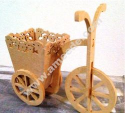 Decorative Bicycle Tricycle Candy Bar