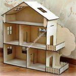 Dollhouse Kit Laser Cut Template 4Mm