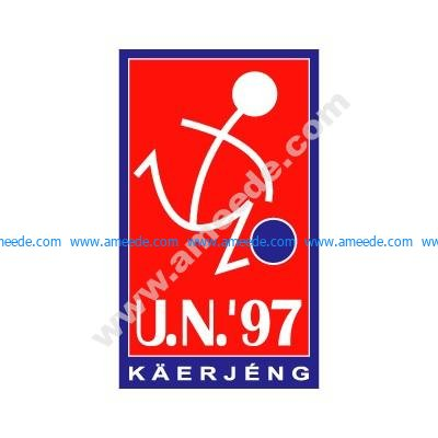 Download the UN Kaerjeng'97 logo vector file