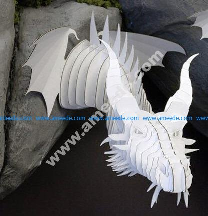 Dragon Head Template