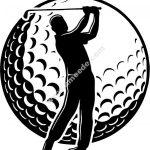 Golf club players