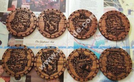 Harry Potter Coasters