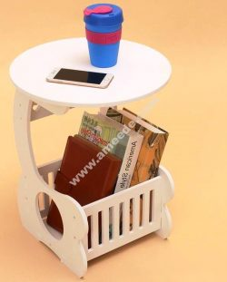 Magazine Rack Side Table Template