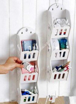 Multi layer Wall Shelf Storage Rack