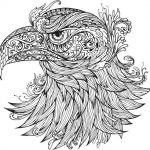 Ornamental Eagle Vector