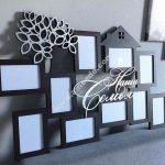 Photo frames of family members