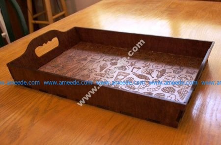 Plywood Serving Tray