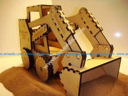 Toy Gift Bobcat Skid Steer Loader